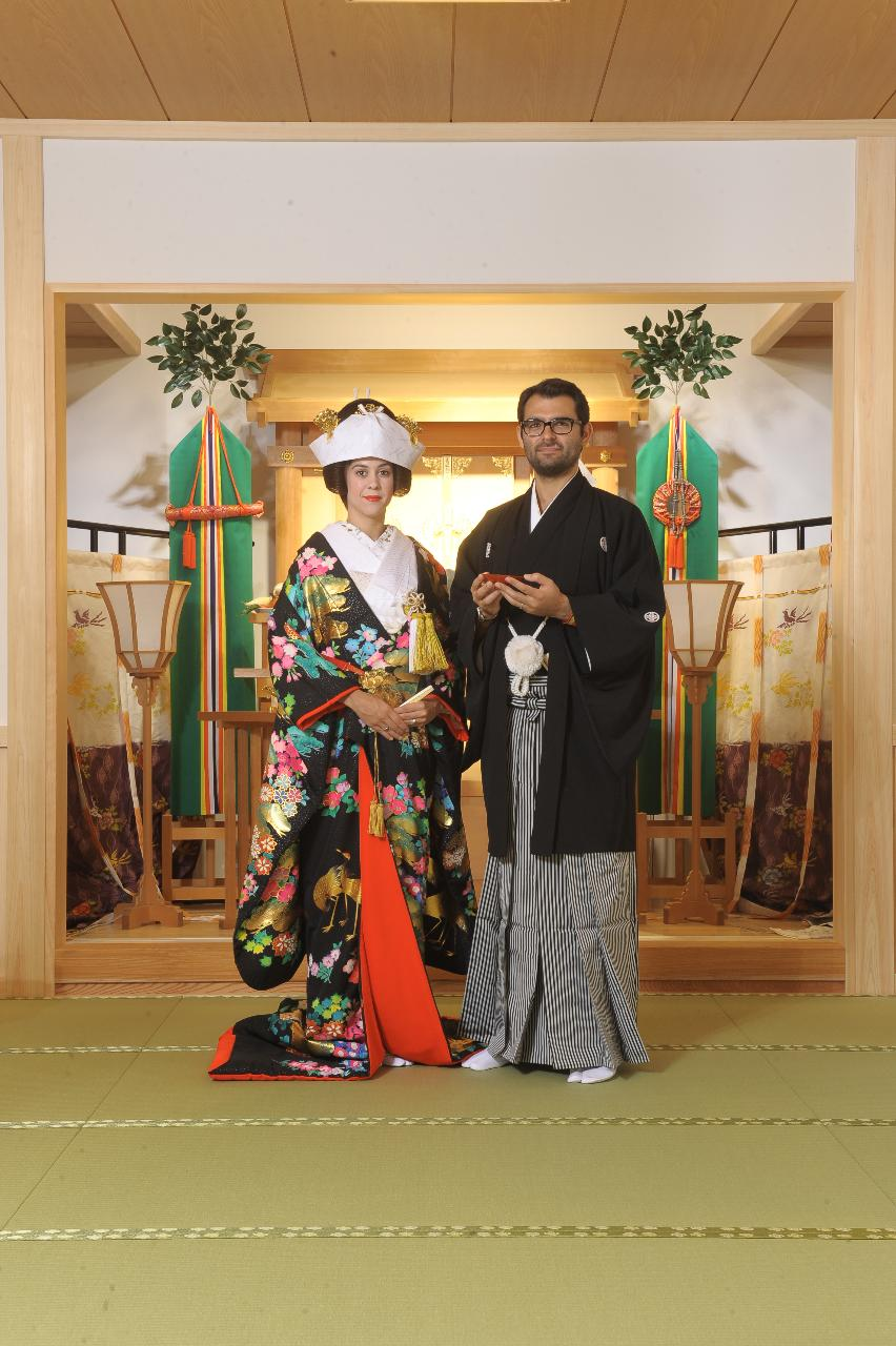 Traditional Japanese Wedding.Japanese Wedding Ceremony In Tokyo With Wedding Photography Included